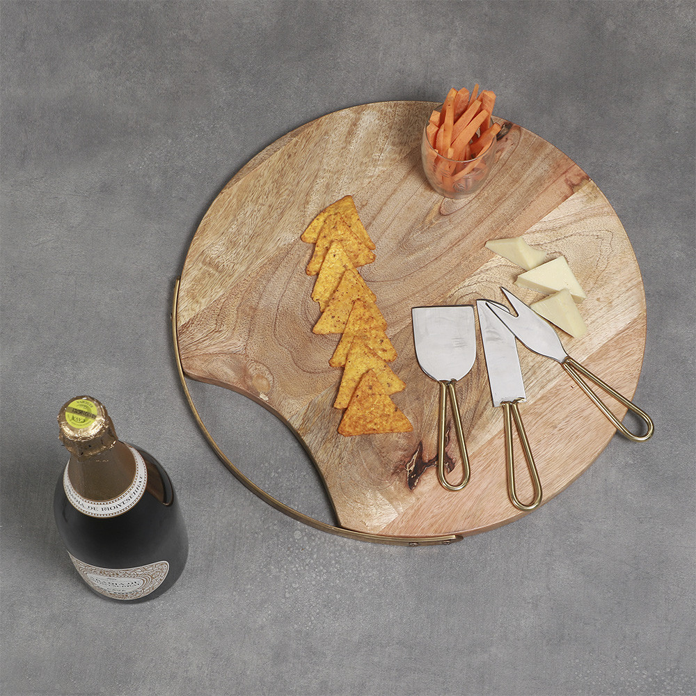 Manor House Cheese Board with Knives