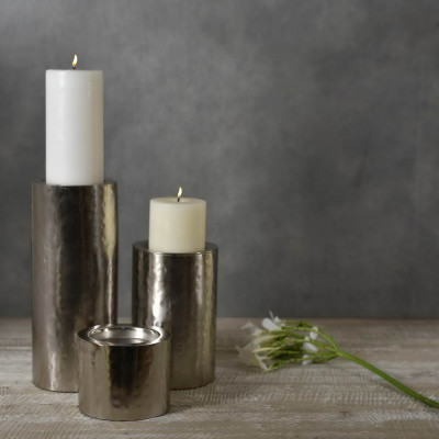 Pillar Candle Holder 11 inches